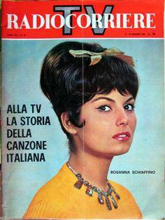 Rosanna Schiaffino - TV Radio Corriere Magazine Cover [Italy] (17 May 1964)