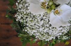 Ramo de novia  blanco para novias elegantes. Mayula Flores