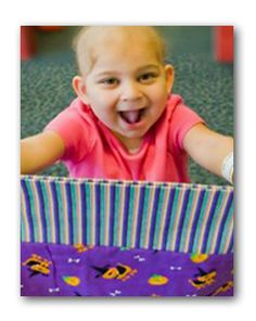 ConKerr Cancer: An organization that recruits people to sew fun colored and patterned pillowcases that are then donated to hospitals for kids to brighten up their rooms!