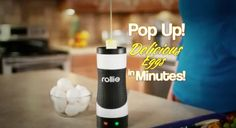 Egg-Making: Reinvented, Featuring 'Vertical Cooking Technology'