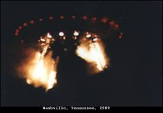 1989 - Nashville, Tennessee. September 27. The photographs of these UFOs were provided by Commander Graham Bethune of the US Navy.
