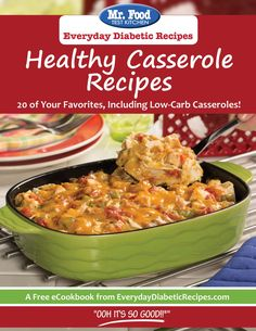 Healthy Casserole Recipes Free eCookbook