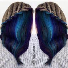 Underlight Hair Fair On The Bottom Light Top
