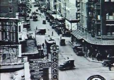 1920's San Antonio - Houston St. & Alamo - Great old photo of the corner showing the Rivoli Theatre which operated from 1921 to 1930 at 506 E. Houston St.