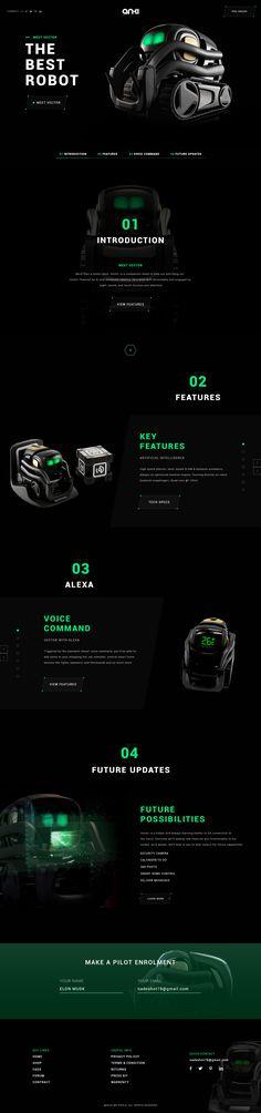 Vector Robot, Alexa Voice, Website Design Inspiration, Website Template, Web Design, Sci Fi, Tech, Logo, Books