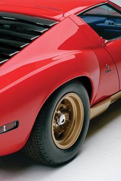 Design is fine. History is mine. — Bertone, Lamborghini Miura SV,1971. Via rm...