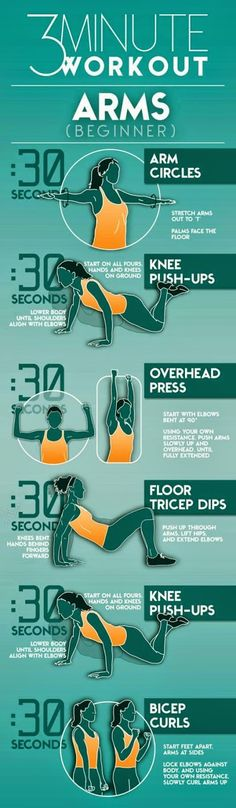 3 minutes workout arms