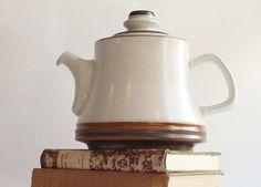 Vintage 1970s Denby Teapot. £12.00, via Etsy.
