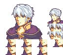 I want this to be a thing.  A mod to play as robin in sacred stones or even rekka no ken please