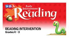 Solid research is at the heart of SRA Early Interventions in Reading. Designed to work comfortably with your core reading program or for Tier II interventions, this early intervention program provides the significant increase in the intensity of instruction that low-level readers need to meet grade-level expectations.