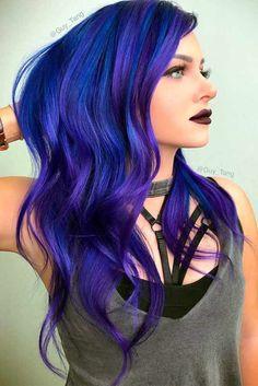 Nouvelle Tendance Coiffures Pour Femme 2017 / 2018 27 Styles de cheveux chics et sexy pour un nouveau look brave Les cheveux bleus sont super sexy
