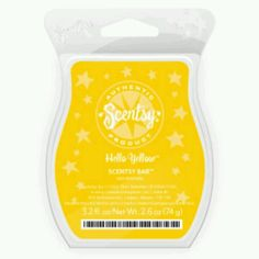 The scent of the month via scentsy