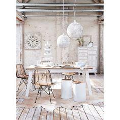 Table 579,00€ Esstisch, Tischplatte Baumscheibe, massives Eichen-/Kiefernholz Katalogbild