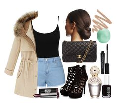 """Causal Outfit"" by erch on Polyvore featuring M&Co, Ally Fashion, Chanel, Marc Jacobs, Essie, Smashbox and Eos"