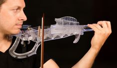 The 3Dvarius is the new electric violin created by 3D printing technology and based on the model of a real Stradivarius violin.