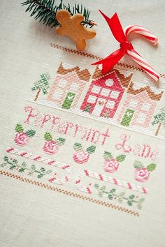 Pepermint Lane (Country Cottage Needleworks) by loretoidas.