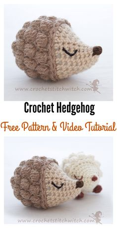Crochet Hedgehog Amigurumi Free Patterns