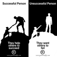 7 Characteristic of Successful vs Unsuccessful Person in Business and Life
