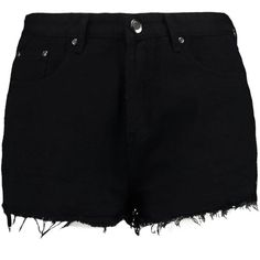 Boohoo Plus Diana Studded Ripped Denim Short (160 NOK) ❤ liked on Polyvore featuring shorts, bottoms, ripped denim shorts, distressed jean shorts, destroyed jean shorts, destroyed denim shorts and distressed denim shorts