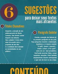 6 Sugestões para Deixar os Seus Textos Mais Atraentes