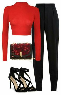 Party Outfit Night Classy Pants 62 Beste Ideen How to wear it outfits Cute Sporty Outfits, Classy Outfits, Stylish Outfits, Classy Party Outfit, Formal Outfits, Casual Party, Elegant Outfit, Look Fashion, Fashion Outfits