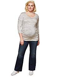 Jessica Simpson Plus Size Secret Fit Belly Boot Cut Maternity Jeans *** Continue to the product at the image link. (This is an affiliate link) Best Maternity Jeans, Plus Size Maternity Dresses, Plus Size Vintage Dresses, Maternity Shorts, Stylish Maternity, Maternity Tops, Maternity Fashion, Maternity Clothing, Maternity Style