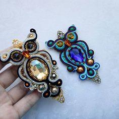 Мимишки ньяшки)#Repost#@handmade_ru_jewellery #soutache