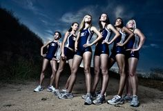 Cross Country Girls for ESPN Rise Magazine | The blog of Los Angeles sports portrait photographer Dustin Snipes