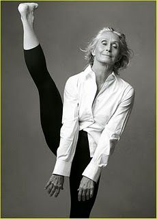 twyla tharp ~ she seriously puts a smile on my face! LOVE!!!!