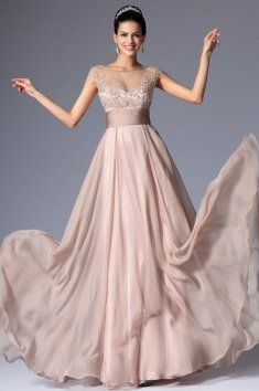 Jemné plesové šaty zdobené kamínky Večerní Šaty 9d584dce00