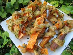 (wheat, gluten, grain and dairy-free) chicken wrapped sweet potato