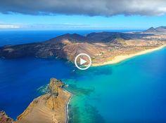 Incrível Porto Santo, uma praia com 9km (Ultra Alta Definição)