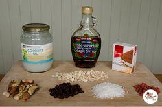 Home made Gluten-Free Muesli (Granola) - Miss Dotty