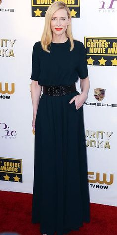 Cate Blanchett's Red Carpet Style - In Lanvin, 2014 - from InStyle.com