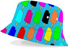 Popsicles Hat from Print All Over Me