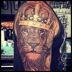 Crown Tattoo Ideas for men #menstattooideas