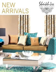 Transform your interior with simple yet stylish designs that leave an impact. ‪ #LatestCollection  of #FurnishingFabrics, #HomeAccessories, #WallPapers and so much more.  ‪#HomeFurnishings #HomeDecor #Furniture #Art #Pakistan #Lahore #Karachi