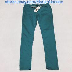 NWT Iris Jeans Size 7 Teal Skinny Jeans  | eBay