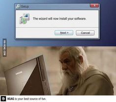 Maybe if Gandalf did it then it would work.