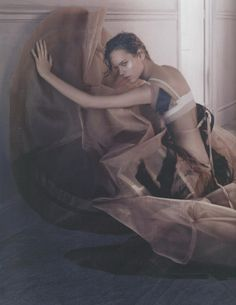 Freja Beha Erichsen by Javier Vallhonrat, Vogue UK.
