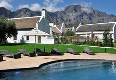 Holden Manz Country House in Franschhoek, Western Cape Two Rivers, Treatment Rooms, Wellness Spa, Guest Suite, Africa Travel, Mountain View, Terrace, Cape Dutch