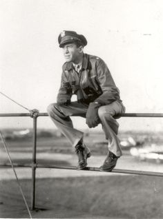 Already a famous actor by the 1930′s, James... - Military Aviation History