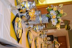 Bumble Bee Baby Shower Decor