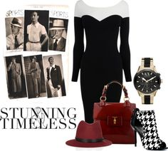"""""""What A Doll - Borrowed From The Boys"""" by latoyacl ❤ liked on Polyvore"""