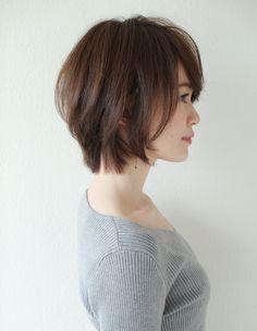 大人可愛いひし形シルエットショートボブ(SY-566)   ヘアカタログ・髪型・ヘアスタイル AFLOAT(アフロート)表参道・銀座・名古屋の美容室・美容院