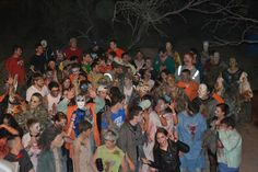 2012 Haunted Adventure Held by Angelo Paintball!  Tons of Zombies on duty!