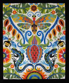 jane sassaman applique artist | Jane Sassaman Quilts