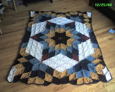 It's not Knitting! It's Crochet. . .: Prairie Star Crochet