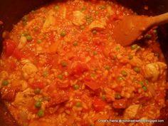 Cheat's Paella for £1.26/ person  Recipe here: http://nononsensefood.blogspot.co.uk/2013/07/cheats-paella.html
