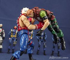 G.I. Joe Collector's Club Big Boa vs. Surefire